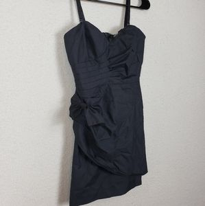 Forever 21 gray mini dress with bow size small